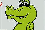 男子买鳄鱼当宠物 长到1米长害怕报警