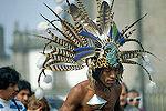 玛雅人举行仪式迎接12月21日新纪元