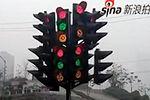 重庆现罕见神级红绿灯