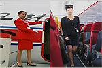 朝鲜空姐换新装