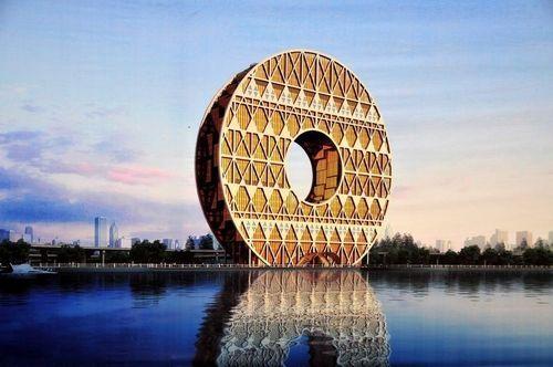 国内奇葩建筑盘点 铜钱大厦马桶酒店
