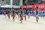 团体操少女集体着格格装大跳《忐忑》