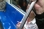 女乘客地铁内高跟鞋砸破男子头被抹满脸血