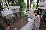 """武汉大学生建创意""""树屋""""供小朋友玩耍"""