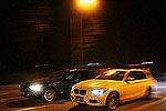 实拍武汉街头深夜飙车竞赛 警车围堵抓捕