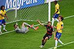 集锦穆勒头筹K神破纪录德国7-1巴西进决赛