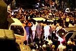 女司机撞飞行人致死 不愿下车与路人对骂