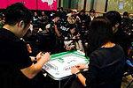 实拍华人在澳洲打麻将排队买iPhone6