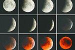 实拍我国唯美红月亮月全食全过程