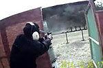天津特警手枪训练视频曝光 全程仅漏一枪