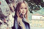 俄9岁女孩成国际超模 被誉世界最美少女