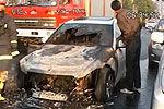 悲催男子上午买奔驰豪车下午就被烧毁