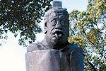 老子吐舌雕塑寓刚柔之道 背对苏州秋裤楼