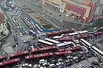 郑州众多工程同时开工部分路段拥堵成常态