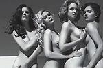 美女裸身拍广告