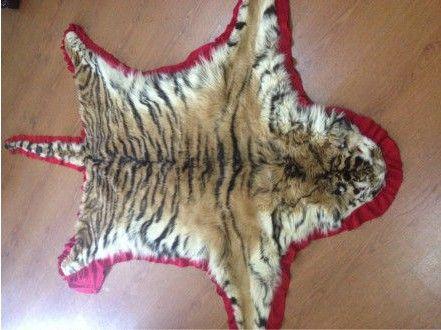女子售卖虎皮被捕