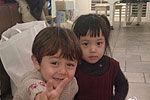 刘烨晒诺一与小四月合照直呼对上眼