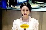 新浪最美女记者走红 似佟丽娅娄艺潇