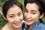 李冰冰为妹妹庆生晒童年照似双胞胎