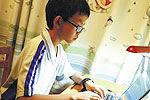 中国最小黑客仅13岁 曾为百余网站补漏