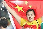 链球女将张文秀成长史 16岁打破亚洲纪录