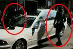实拍女子疑被车主殴打闹市暴力打砸宝马