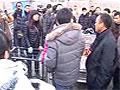 郑州志愿者救狗遭围堵